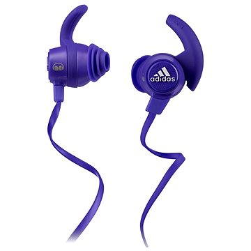 MONSTER Adidas Sport Response Earbuds fialová (128650-00)