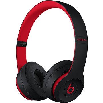 Beats Solo3 Wireless - vyvzdorovaná černo-červená (MRQC2EE/A)