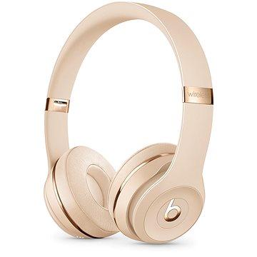 Beats Solo3 Wireless - saténově zlatá (MUH42EE/A)