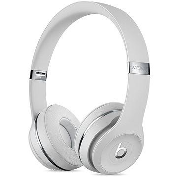 Beats Solo3 Wireless - saténově stříbrná (MUH52EE/A)