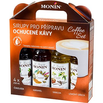 MONIN COFFEE BOX 4 x 0,25 l sirup (99921)