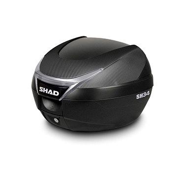 SHAD Vrchní kufr na motorku SH34 karbon (130.D0B34106)