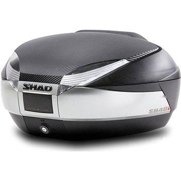 SHAD Vrchní kufr na motorku SH48 Tmavě šedý (130.D0B48406R)