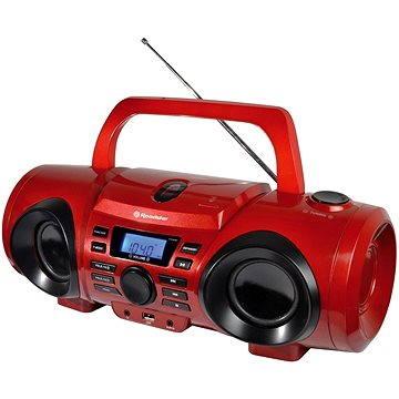 Roadstar CDR-265U červený (CDR-265U/RD)