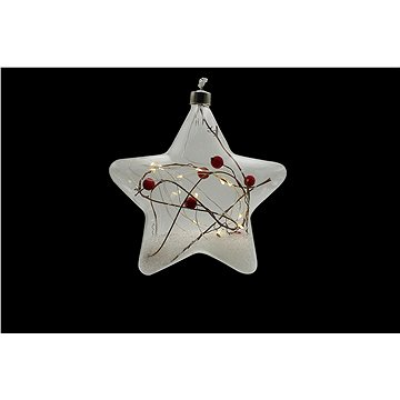 Marimex Decor Crystal Hvězda s cesmínou (18000320)