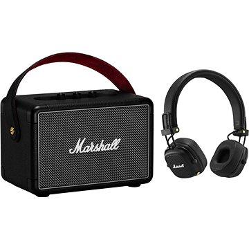 Marshall KILBURN II černý + Major III Bluetooth černé (1005273)