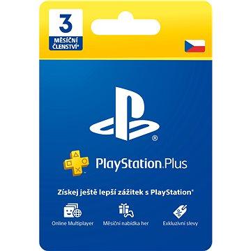 PlayStation Plus 3 měsíční členství - CZ (PS719810742)