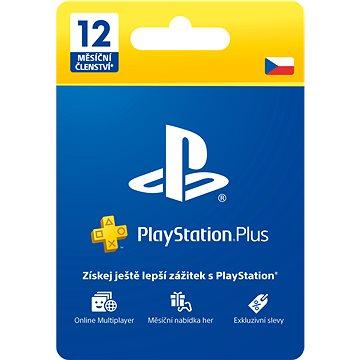 PlayStation Plus 12 měsíční členství - CZ (PS719807346)