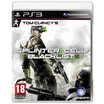 Tom Clancys: Splinter Cell: Blacklist CZ - PS3 (3307215691984)