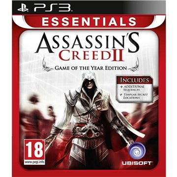 Assassins Creed II (Essentials Edition) - PS3 (3307215659045)