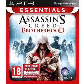 Assassins Creed: Brotherhood (Essentials Edition) - PS3 (3307215659267)