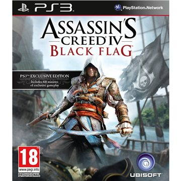 Assassins Creed IV: Black Flag CZ - PS3 (3307215705025)