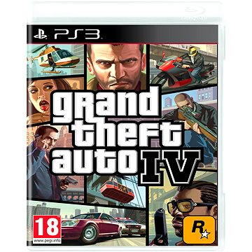 Grand Theft Auto IV - PS3 (5026555400329)