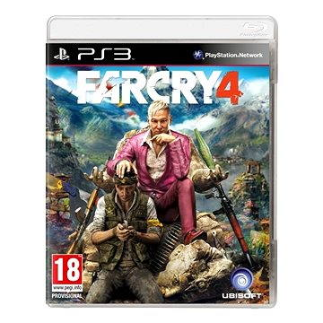 Far Cry 4 CZ - PS3 (3307215793121)