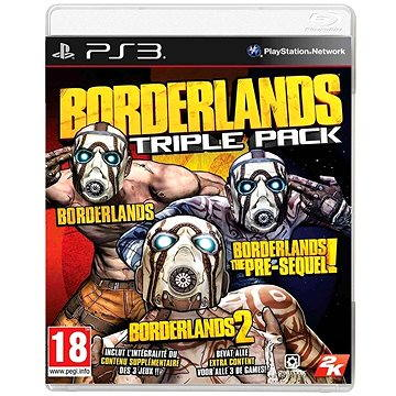 Borderlands Triple Pack - PS3