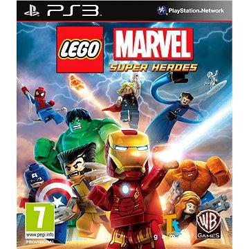 LEGO Marvel Super Heroes - PS3 (5051895395653)
