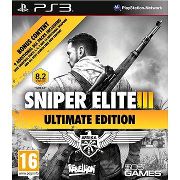 Sniper Elite 3 Ultimate Edition - PS3 (8023171036168)