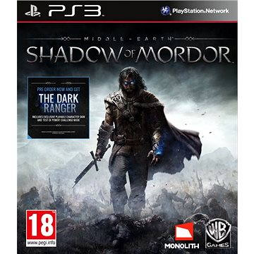 Middle Earth: Shadow Of Mordor - PS3 (5051892174794)