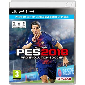 Pro Evolution Soccer 2018 Premium Edition - PS3 (4012927059395)