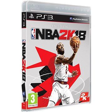 NBA 2K18 - PS3 (5026555420075)