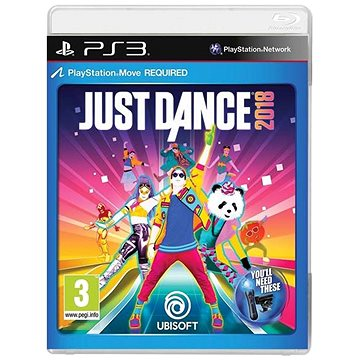 Just Dance 2018 - PS3 (3307216017394)