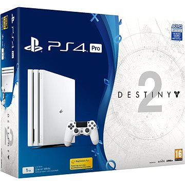 PlayStation 4 Pro 1TB - Glacier White + Destiny 2 (PS719900566) + ZDARMA Hra pro konzoli WipEout: Omega Collection - PS4 Časopis PlayStation Magazín