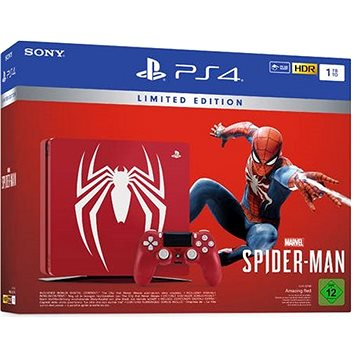 PlayStation 4 1TB Slim Spider-Man Limited Edition (711719725015)