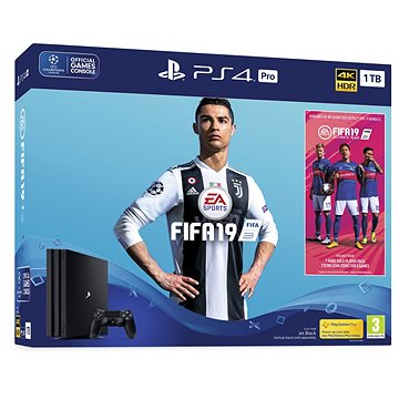 PlayStation 4 Pro 1TB + FIFA 19 (PS719752615)