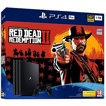 PlayStation 4 Pro 1TB + Red Dead Redemption 2 (PS719760511)