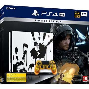 PlayStation 4 Pro 1TB Death Stranding Limited Edition (PS719327004)