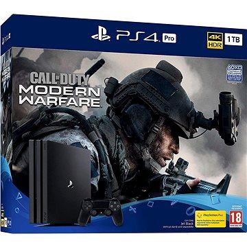 PlayStation 4 Pro 1TB + Call of Duty: Modern Warfare (PS719324300)