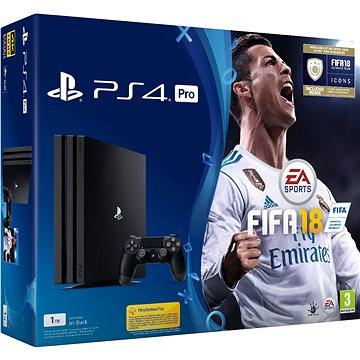 Sony PlayStation 4 Pro 1TB + FIFA 18 (PS719914365)