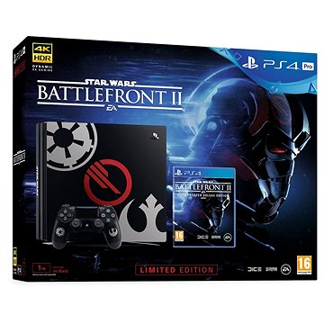 PlayStation 4 Pro 1TB Star Wars Battlefront II Limited Edition (PS719973164)