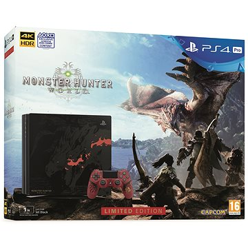 PlayStation 4 Pro 1TB Monster Hunter: World Limited Edition (PS719370970)