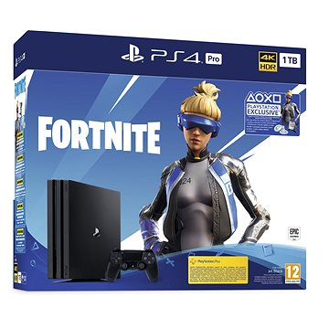 PlayStation 4 Pro 1TB + Fortnite (PS719941101)