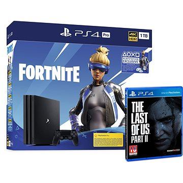PlayStation 4 Pro 1TB + Fortnite + The Last Of Us Part II