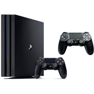 PlayStation 4 Pro 1TB + 2x DualShock 4
