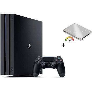 Výkonný PlayStation 4 Pro 960GB SSD + 1TB HDD externí