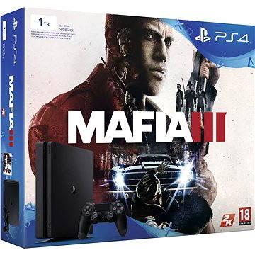 Sony Playstation 4 - 1TB Slim + Mafia III (PS719896654)