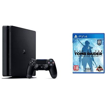 Sony Playstation 4 - 1TB Slim + Rise of The Tomb Raider