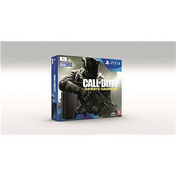 Sony Playstation 4 - 1TB Slim + Call of Duty: Infinite Warfare + extra Dualshock 4 (PS719856856)