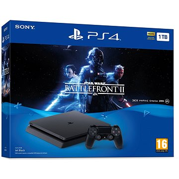 PlayStation 4 1TB Slim Star Wars Battlefront II (PS719965169)