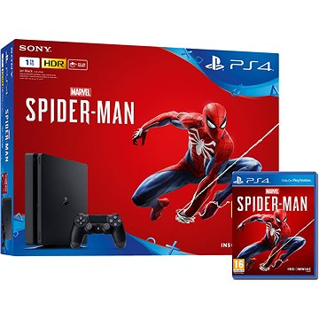 PlayStation 4 1TB Slim + Spider-Man (PS719733218)