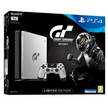PlayStation 4 1TB Slim - Gran Turismo Sport Limited Edition (PS719909767) + ZDARMA Hra pro konzoli Everybody's Golf - PS4 Časopis PlayStation Magazín