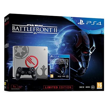 PlayStation 4 1TB Slim Star Wars Battlefront II Limited Edition (PS719970668)