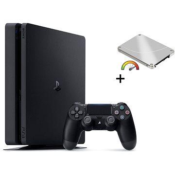 Výkonný PlayStation 4 Slim 480GB SSD + 500GB HDD externí