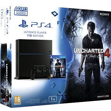 Sony Playstation 4 - 1TB Uncharted 4 Thief´s End Edition (PS719802655) + ZDARMA Hra pro konzoli Ratchet and Clank - PS4