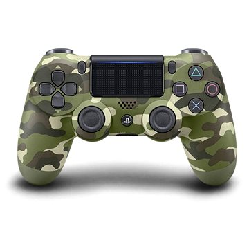 Sony PS4 Dualshock 4 - V2 (Green Camo) (PS719894858)
