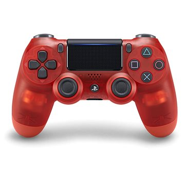 Sony PS4 Dualshock 4 V2 - Crystal Red (PS719868767)