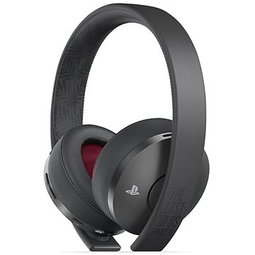 Sony PS4 Gold Wireless Headset Black - TLOU Part II Edition (PS719314004)